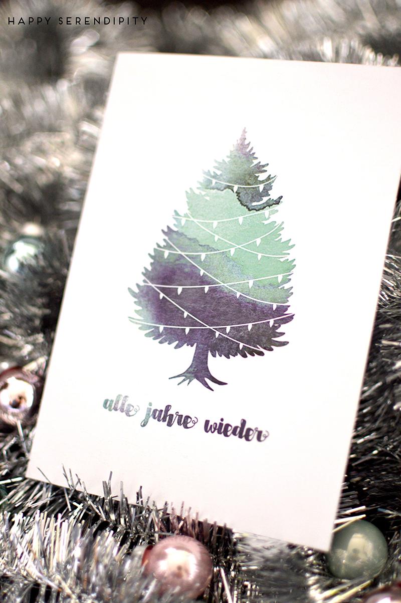 Tag 19 - Free Printable: Weihnachtskarten - Radbag (Mit innen Grusskarten Weihnachten Kostenlos