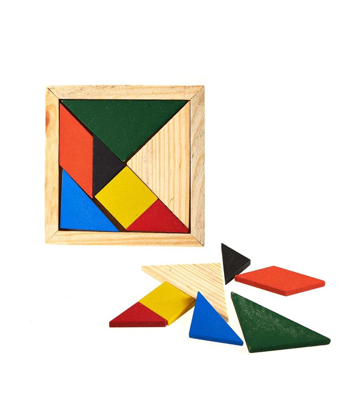 Tangram Quadrat Erstellen Osten - Figuren - Puzzle - Wit bei Tangram Figuren