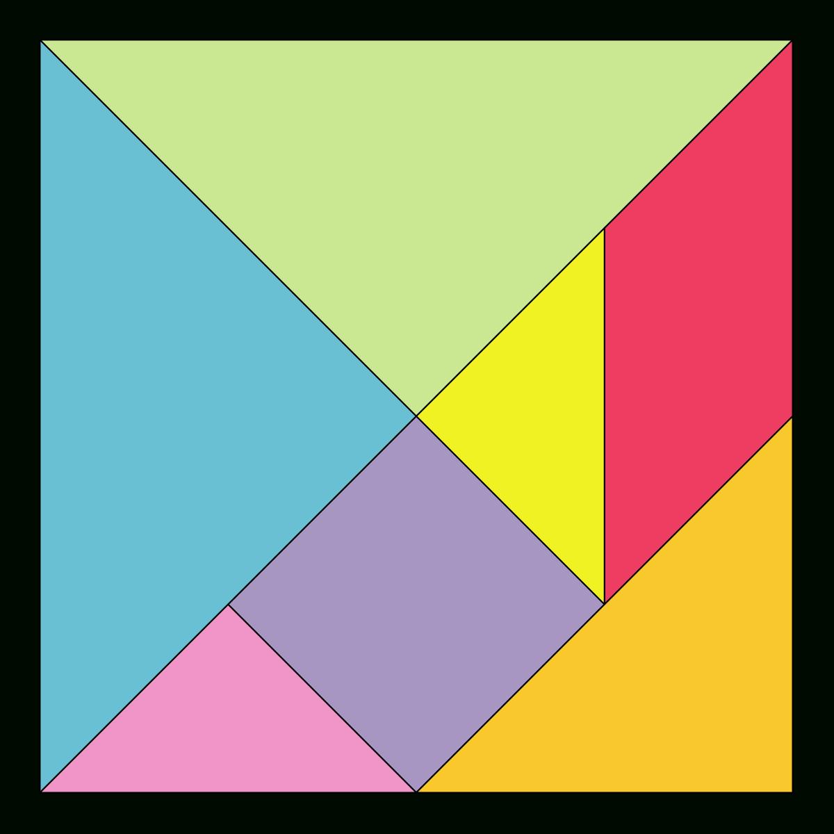 Tangram – Wikipedia ganzes Tangram Vorlagen