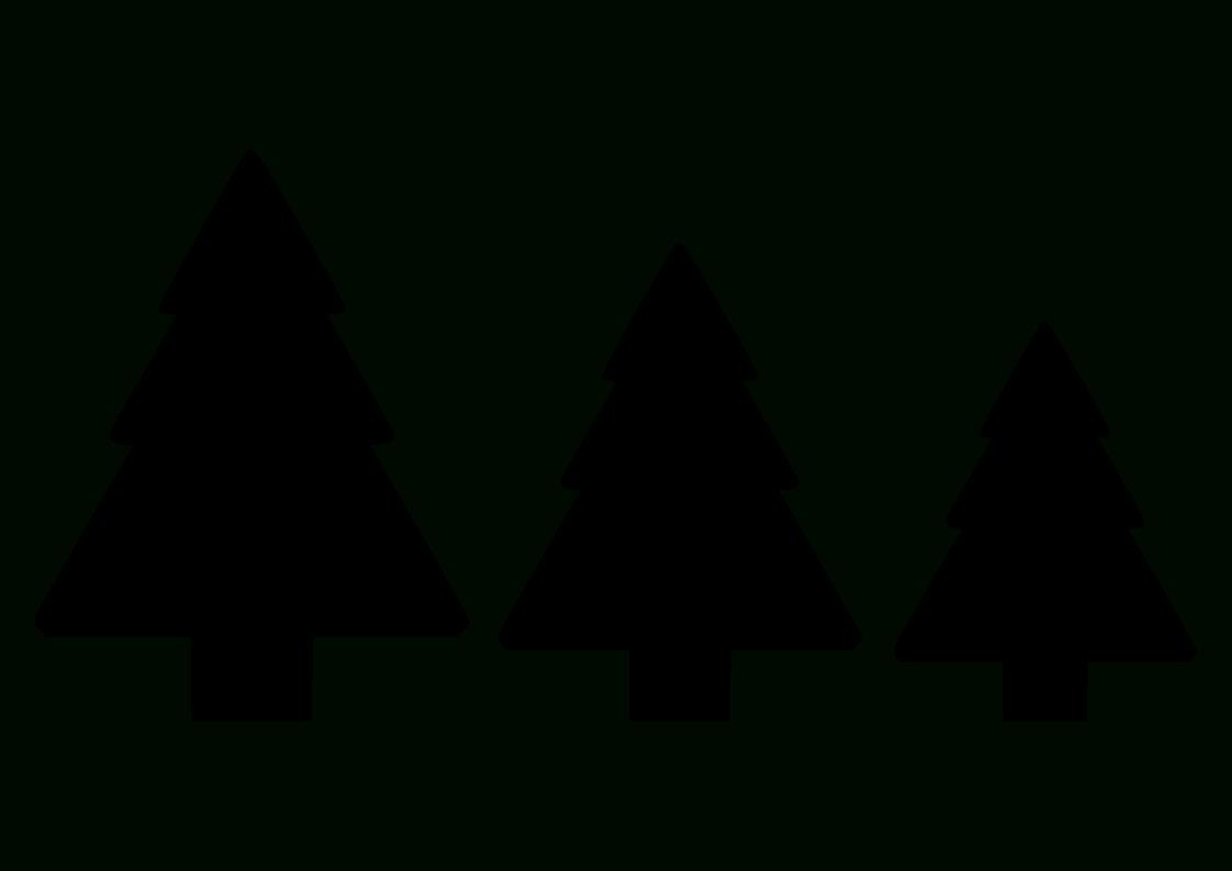 Tannenbaum Vorlage - Einfach-Basteln mit Tannenbaum Vorlage Zum Ausdrucken