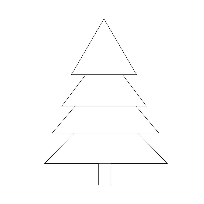 Tannenbaum Vorlage Zum Ausdrucken (Pdf & Word)   Muster für Tannenbaum Vorlage Zum Ausdrucken