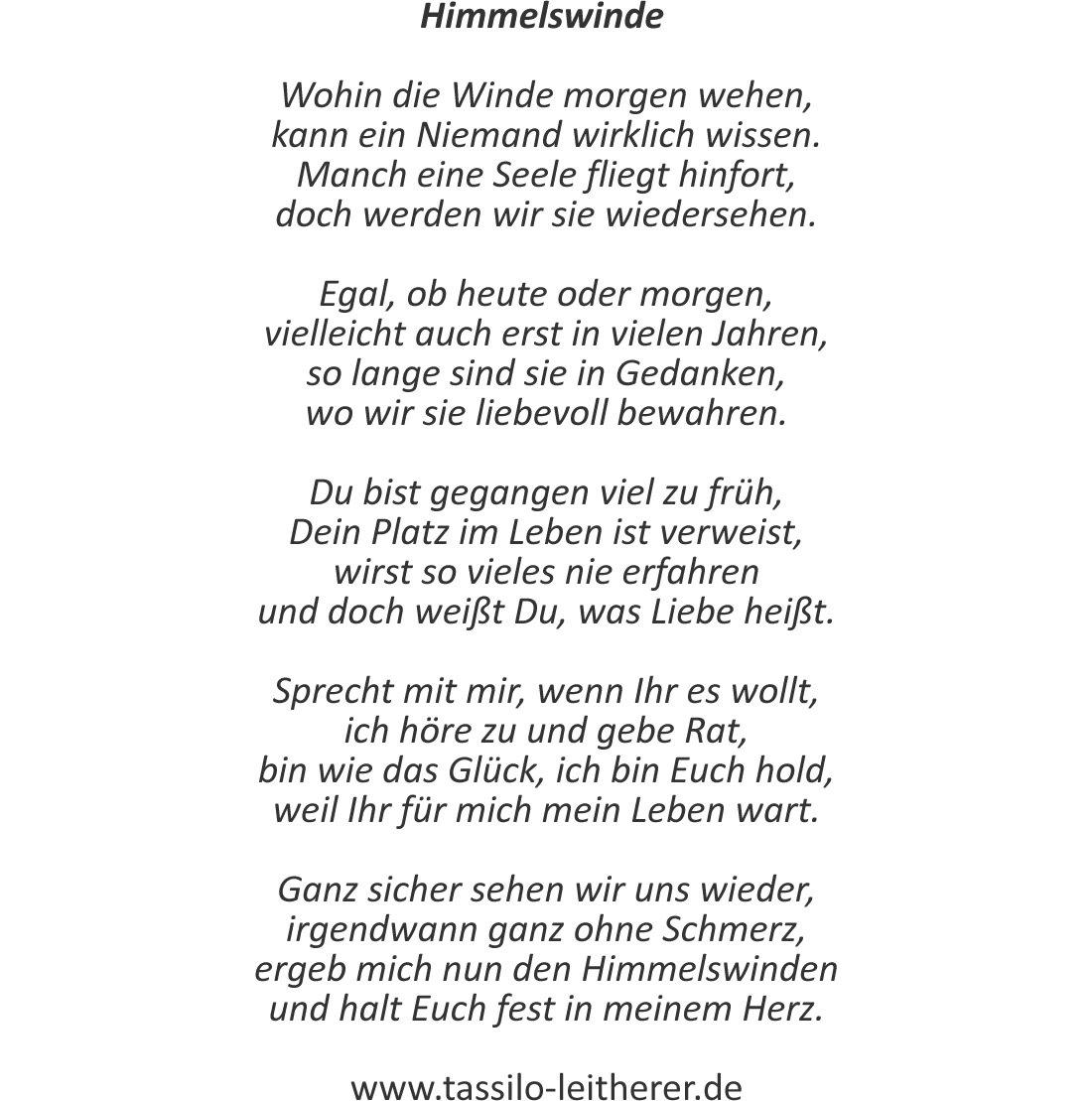 """Tassilo Leitherer Auf Twitter: """"in Der Variante Für bei Abschied Gedicht"""