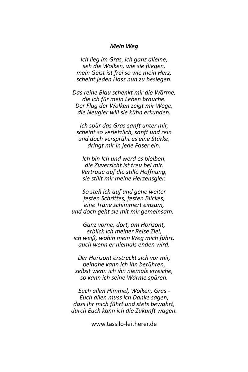 """Tassilo Leitherer On Twitter: """"was Uns Kraft Gibt Und Uns in Ich Bin Ich Und Du Bist Du Gedicht"""