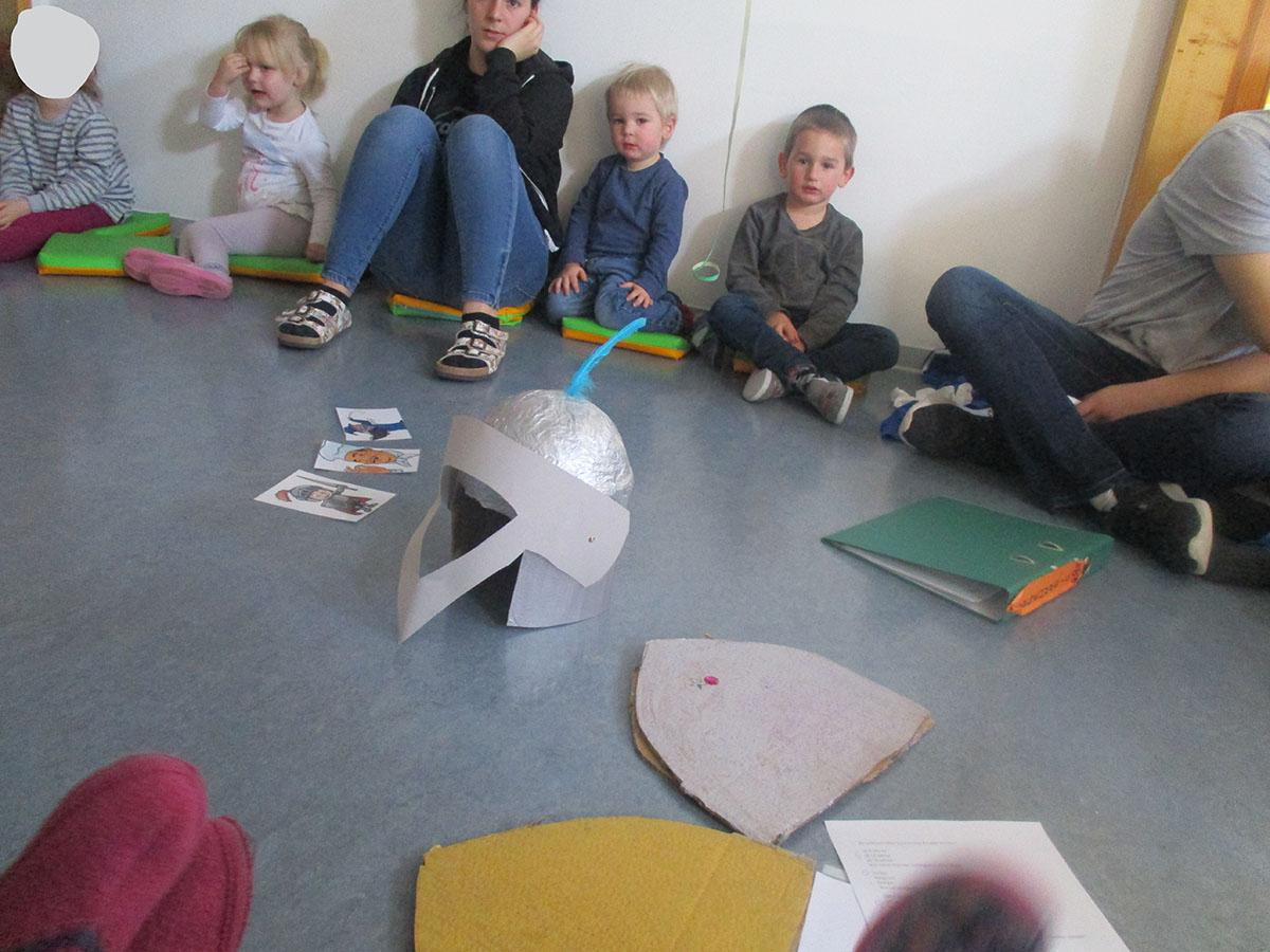 Thema: Burgen Und Schlösser - Kindergarten Im Brombachtal bei Projekt Ritter Und Burgen Im Kindergarten