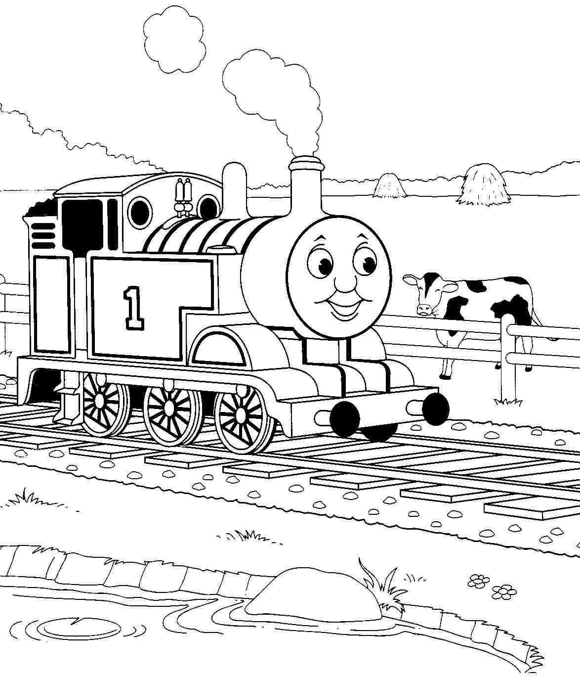 Thomas The Train Coloring Pages Fresh Coloring Cooloring innen Malvorlage Thomas Und Seine Freunde