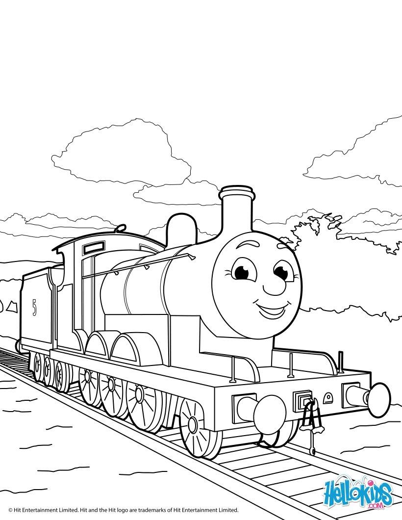 Thomas Und Seine Freunde - Ausmalbilder - Ausmalbilder bei Malvorlage Thomas Und Seine Freunde