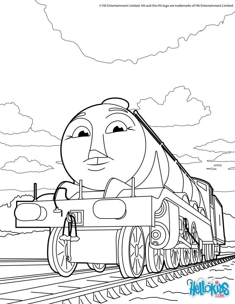 Thomas Und Seine Freunde - Ausmalbilder - Ausmalbilder über Malvorlage Thomas Und Seine Freunde