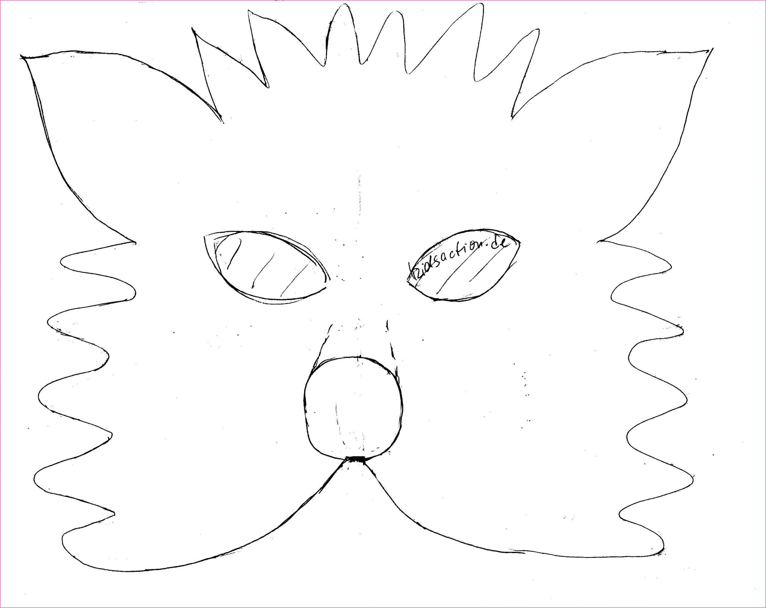 Tiermasken Basteln Vorlagen Ausdrucken (Mit Bildern mit Tiermasken Basteln Vorlagen Ausdrucken