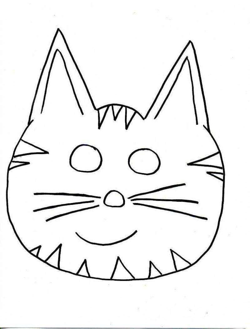 Tiermasken Basteln:14 Verspielte Ideen+Druckvorlagen ganzes Masken Vorlagen Zum Ausdrucken Kostenlos