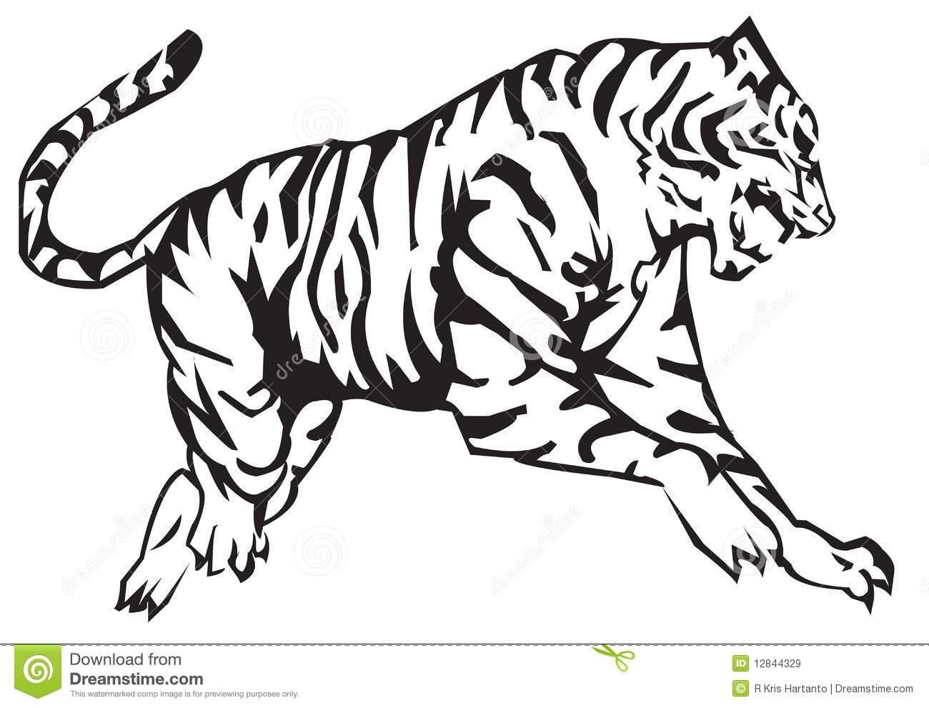 Tiger Malvorlagen Kostenlos Zum Ausdrucken Ausmalbilder Ber ganzes Tiger Zum Ausmalen