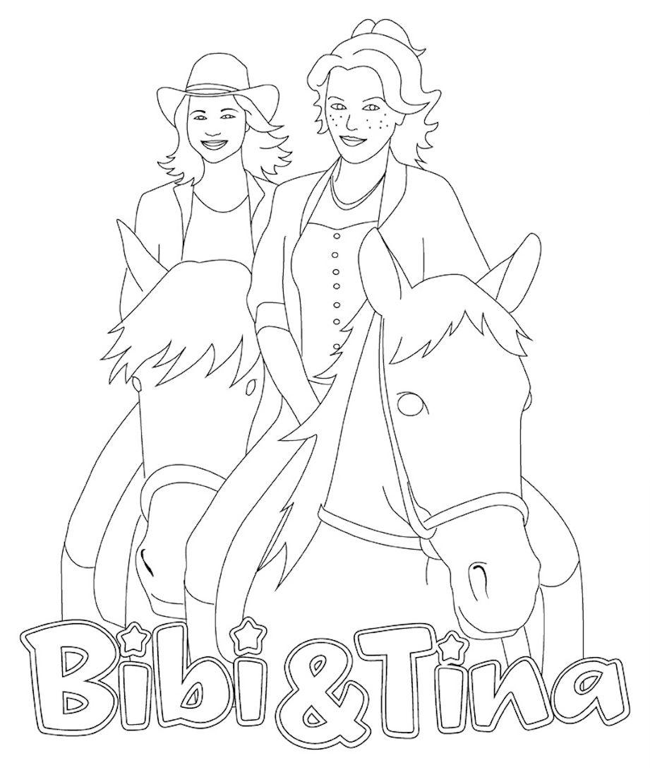Tina Und Amadeus Malvorlage | Coloring And Malvorlagan bestimmt für Malvorlage Bibi Und Tina