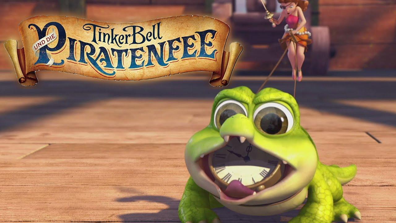 Tinkerbell Und Die Piratenfee - Filmclip: Tick Tock Croc - Ab 12. Juni 2014  Im Kino! ganzes Tinkerbell Und Die Piratenfee Krokodil