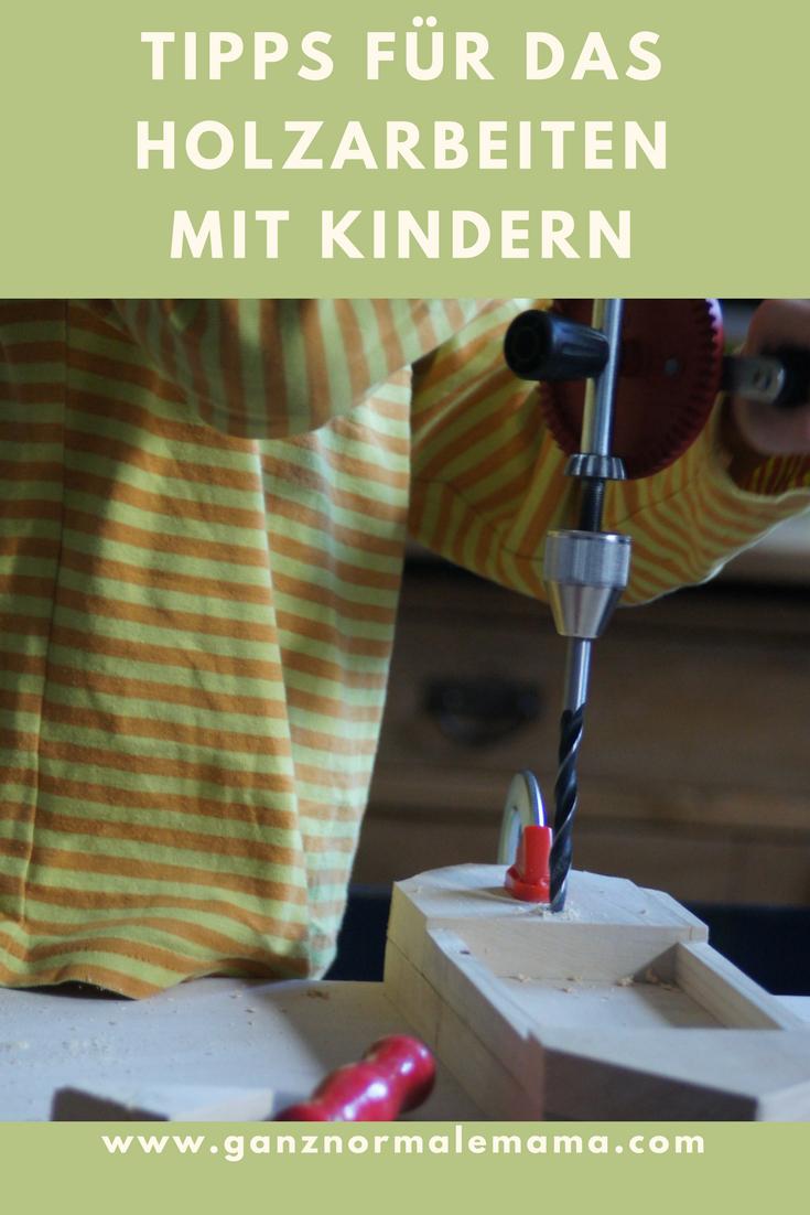 Tipps Für Das Holzarbeiten Mit Kindern   Kinder Basteln Holz bei Holzarbeiten Mit Kindern Anleitungen