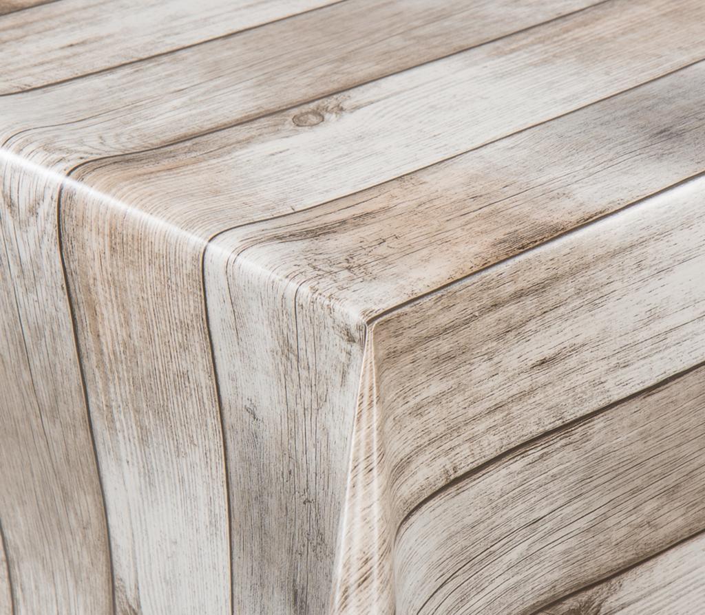 Tischdecke Aus Wachstuch, Rund-Eckig-Oval, Meterware Im Moderenem Küchen  Design Holzoptik Rustikal verwandt mit Tischdecke Holzoptik