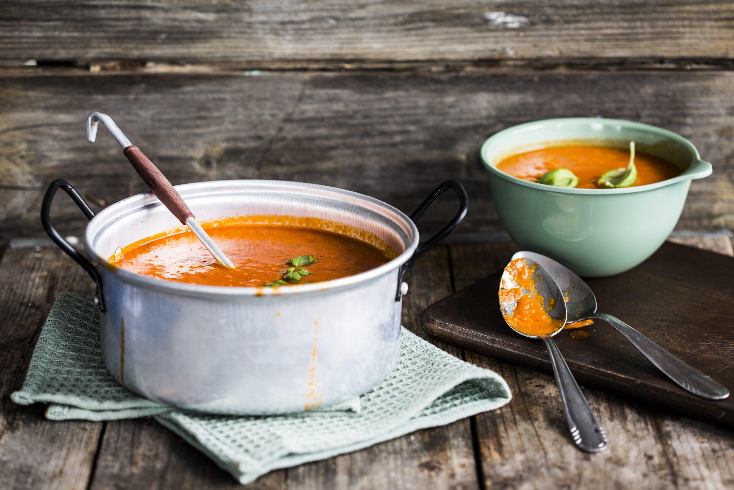 Tomatensuppe Aus Frischen Tomaten – Gesund & Gut bei Rezepte Tomatensuppe Aus Frischen Tomaten