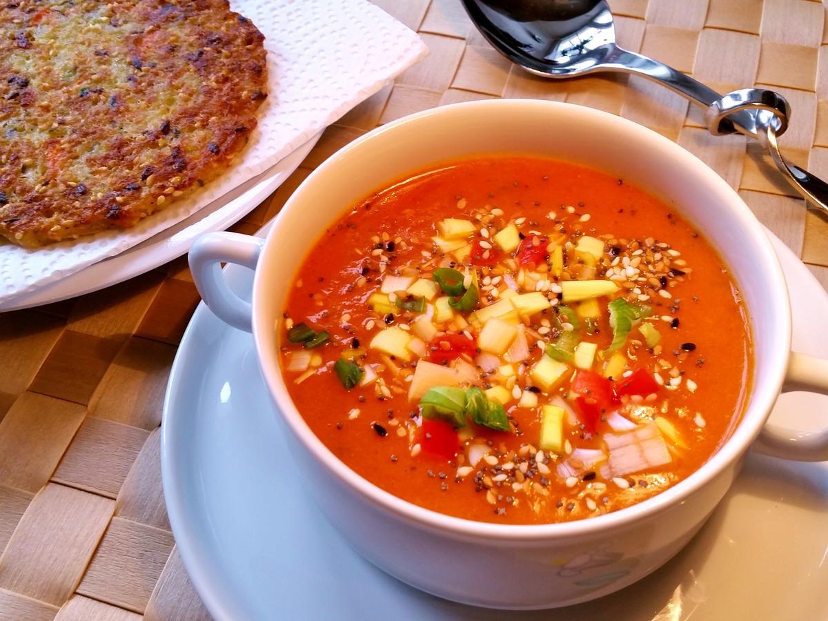 Tomatensuppe Mit Frischen Tomaten innen Rezepte Tomatensuppe Aus Frischen Tomaten