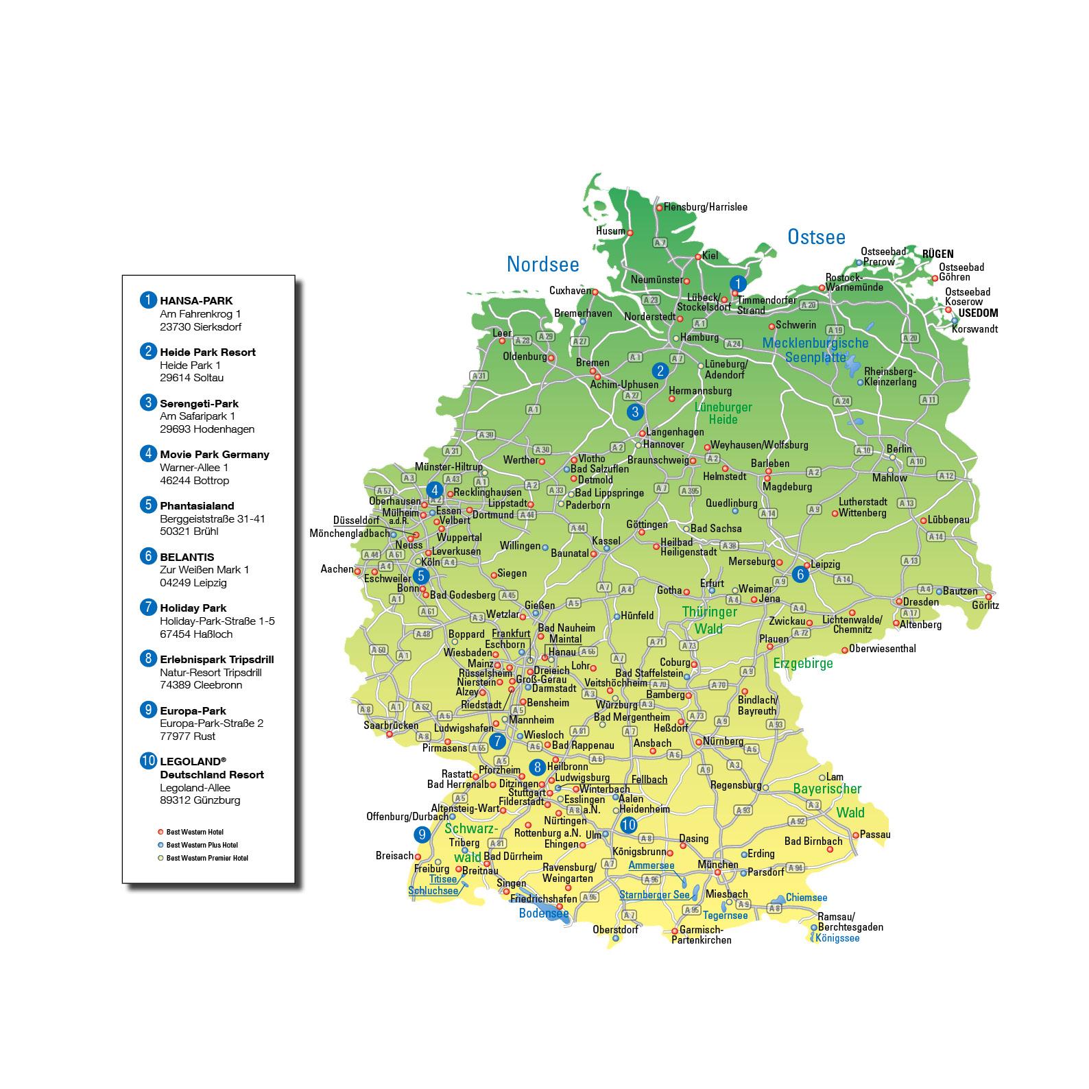 Top 10 Der Besten Freizeitparks In Deutschland - Mitreisend verwandt mit Die 10 Besten Freizeitparks Deutschland