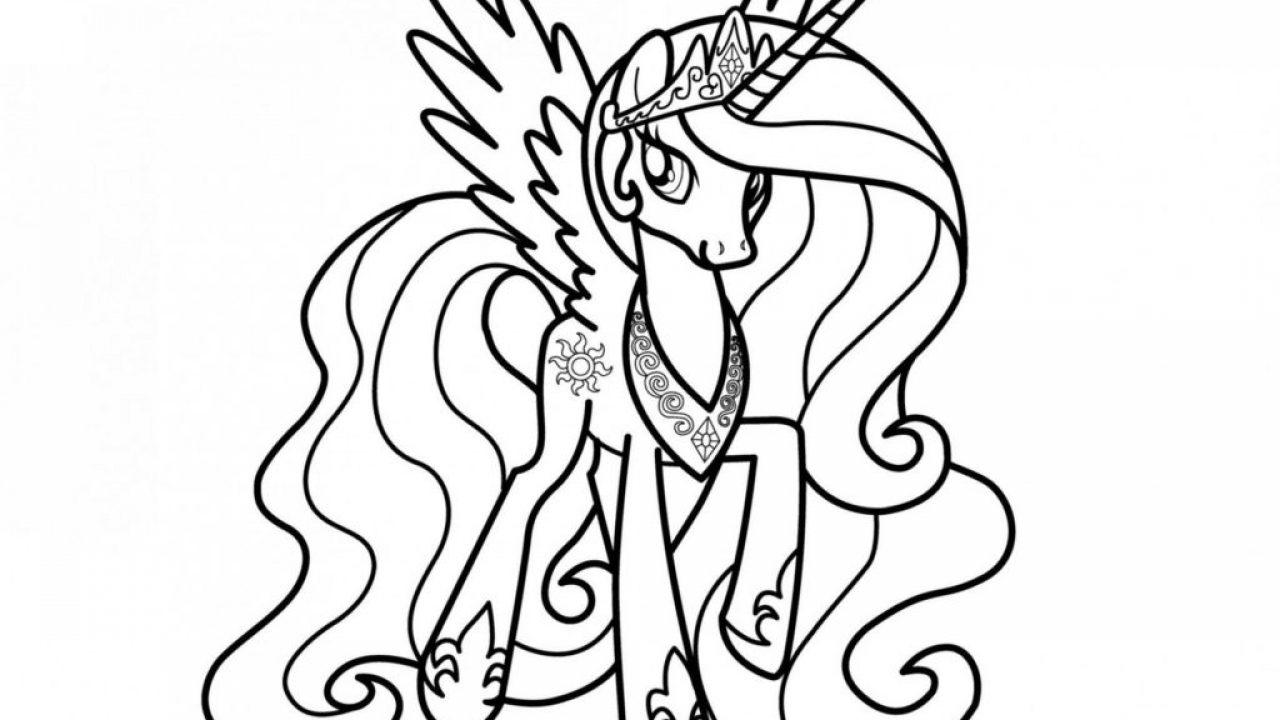 Top 25 My Little Pony Ausmalbilder - Kids-Ausmalbildertv ganzes My Little Pony Malvorlage