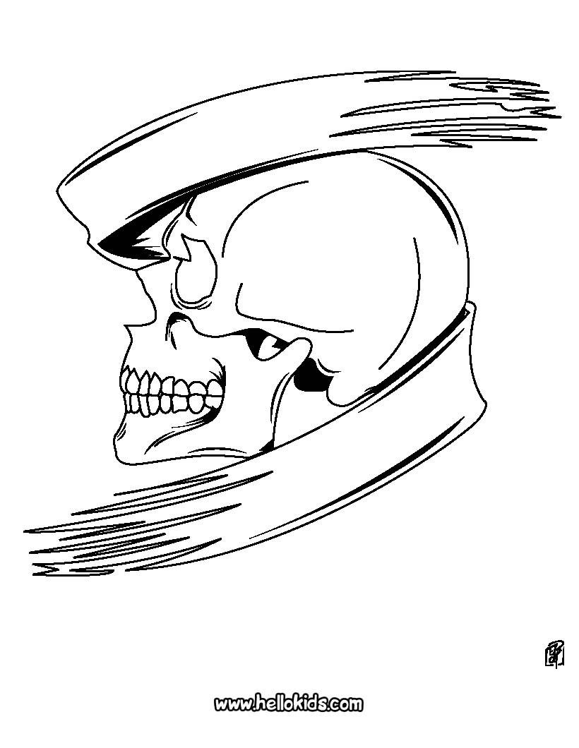 Totenkopf : Ausmalbilder, Bilder Für Kinder, Basteln verwandt mit Totenkopf Bilder Zum Ausmalen