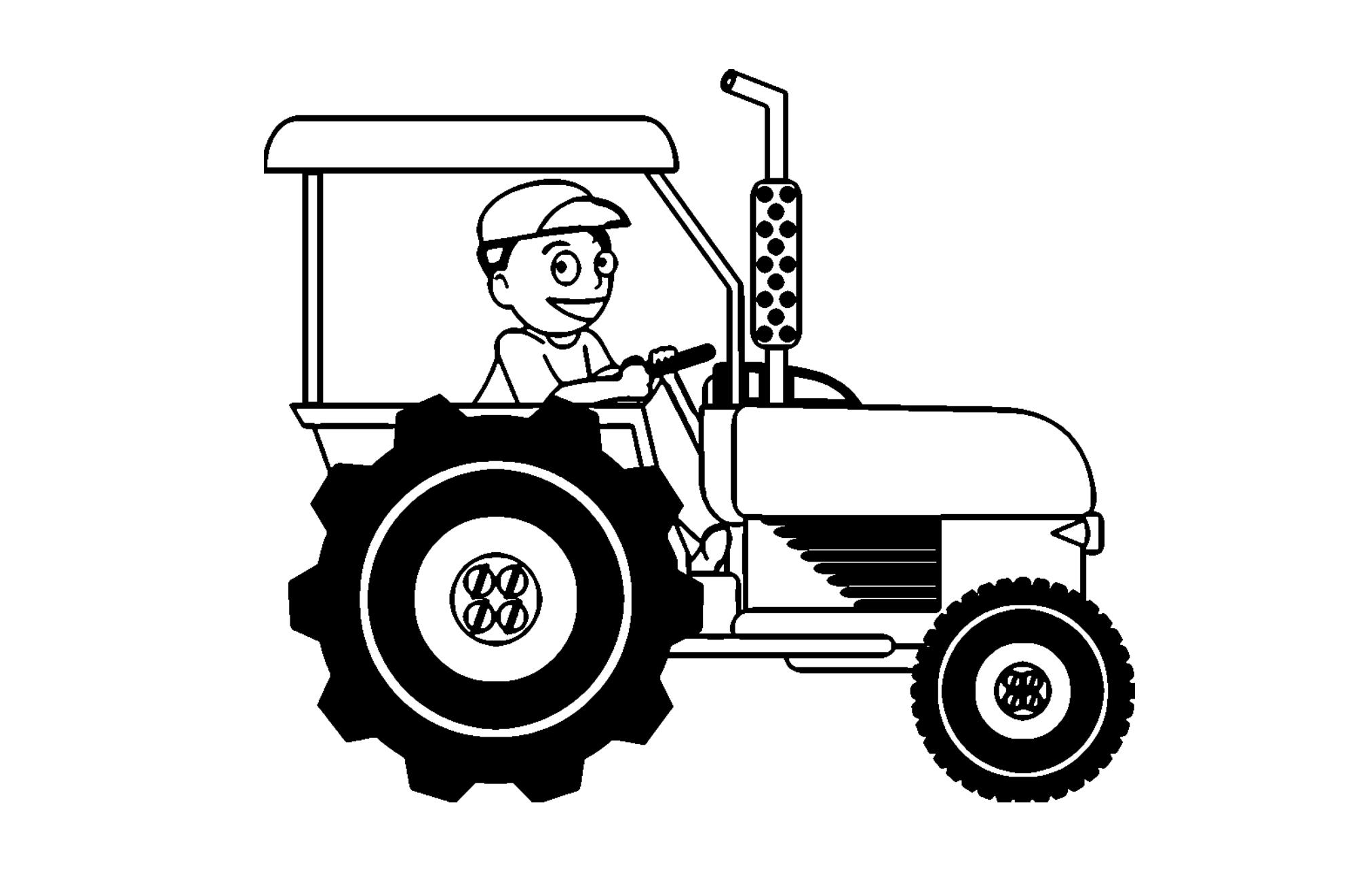 malvorlage traktor  kinderbilderdownload  kinderbilder