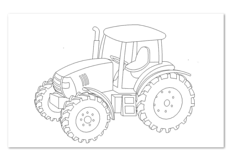 Traktor Ausmalbilder Kostenlos Malvorlagen Windowcolor Zum verwandt mit Trecker Ausmalbild