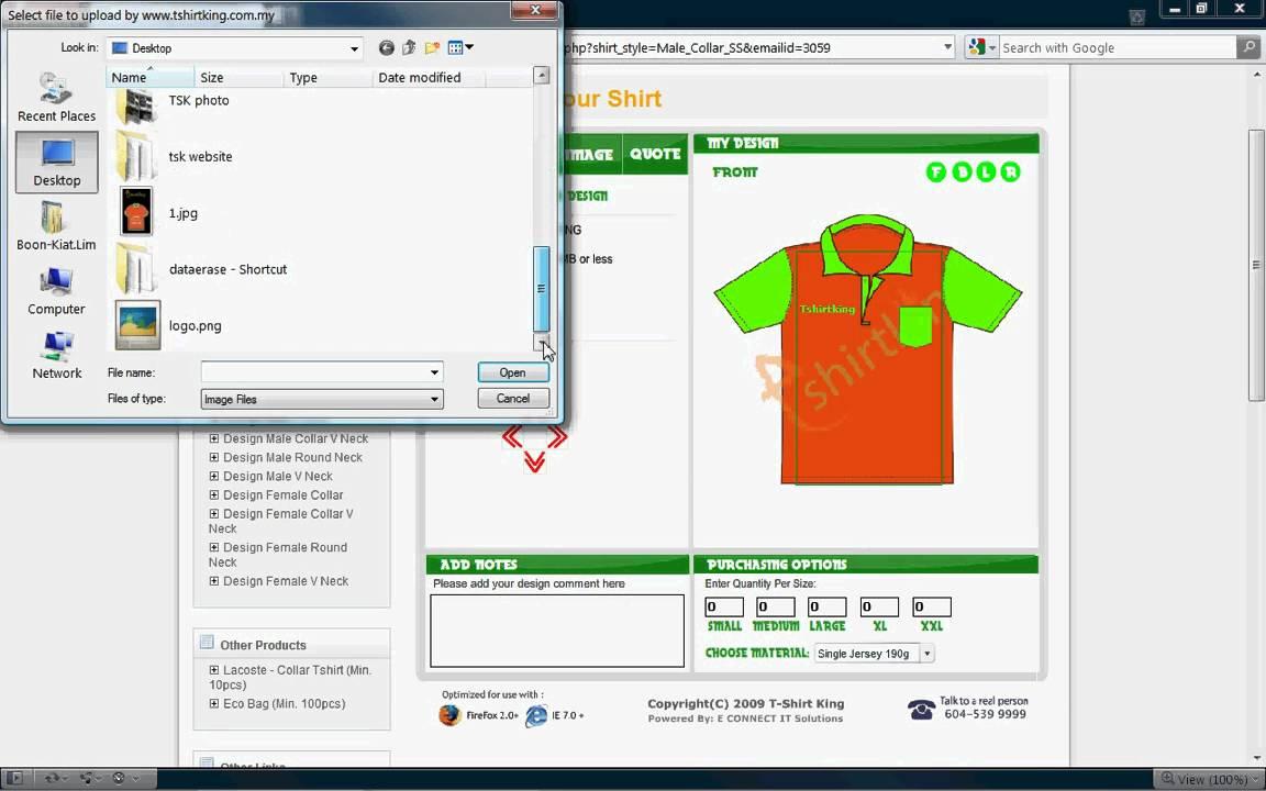 Tshirtking - Online Tshirt Design Tool - Design Tshirt On verwandt mit Shirt Designer Online