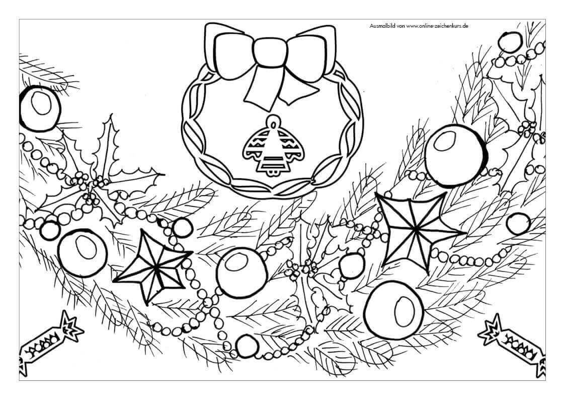 Tusche Malvorlagen Weihnachten   Coloring And Malvorlagan über Ausmalbilder Weihnachten