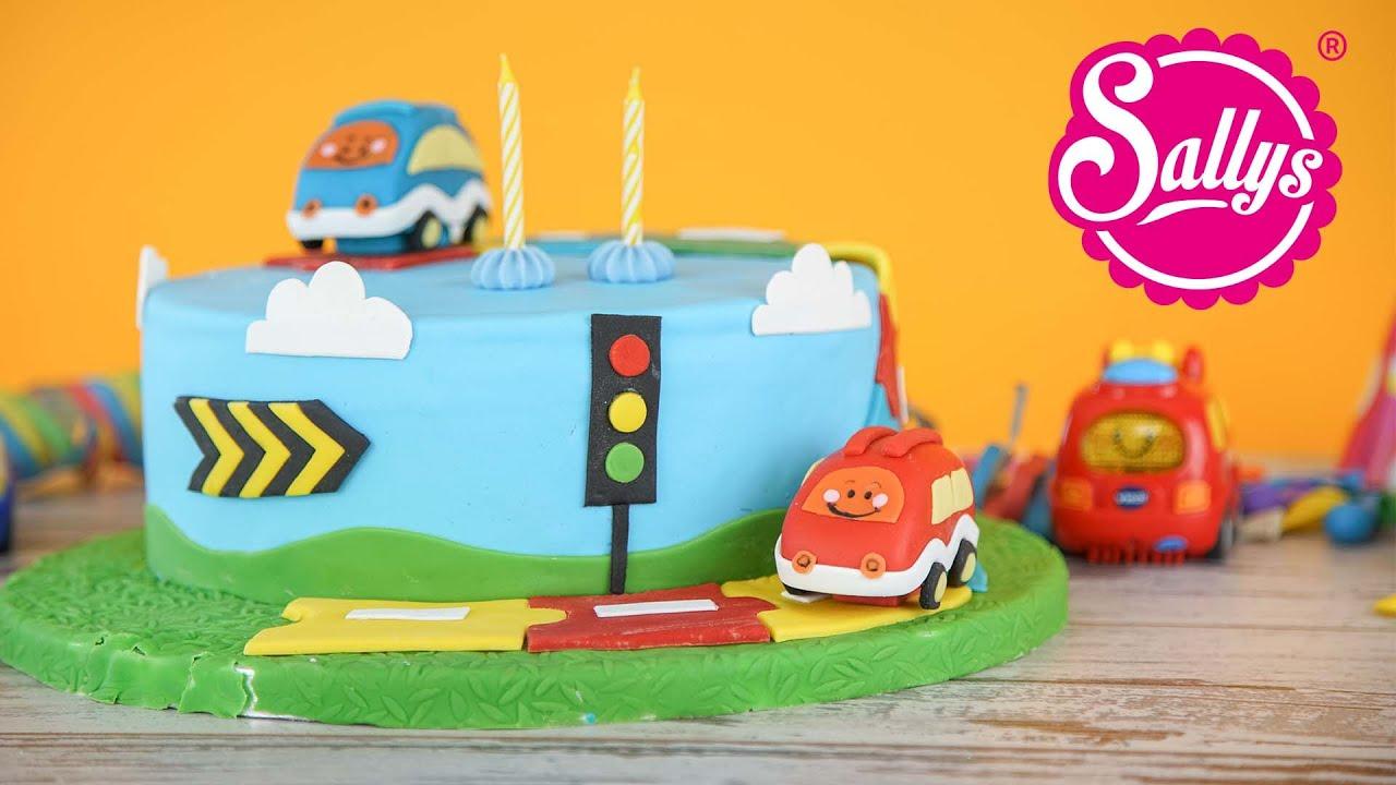 Tut Tut Babyflitzer Torte / Geburtstagstorte Mit Autos / Regenbogentorte /  Sallys Welt für Geburtstagstorte Für Jungs