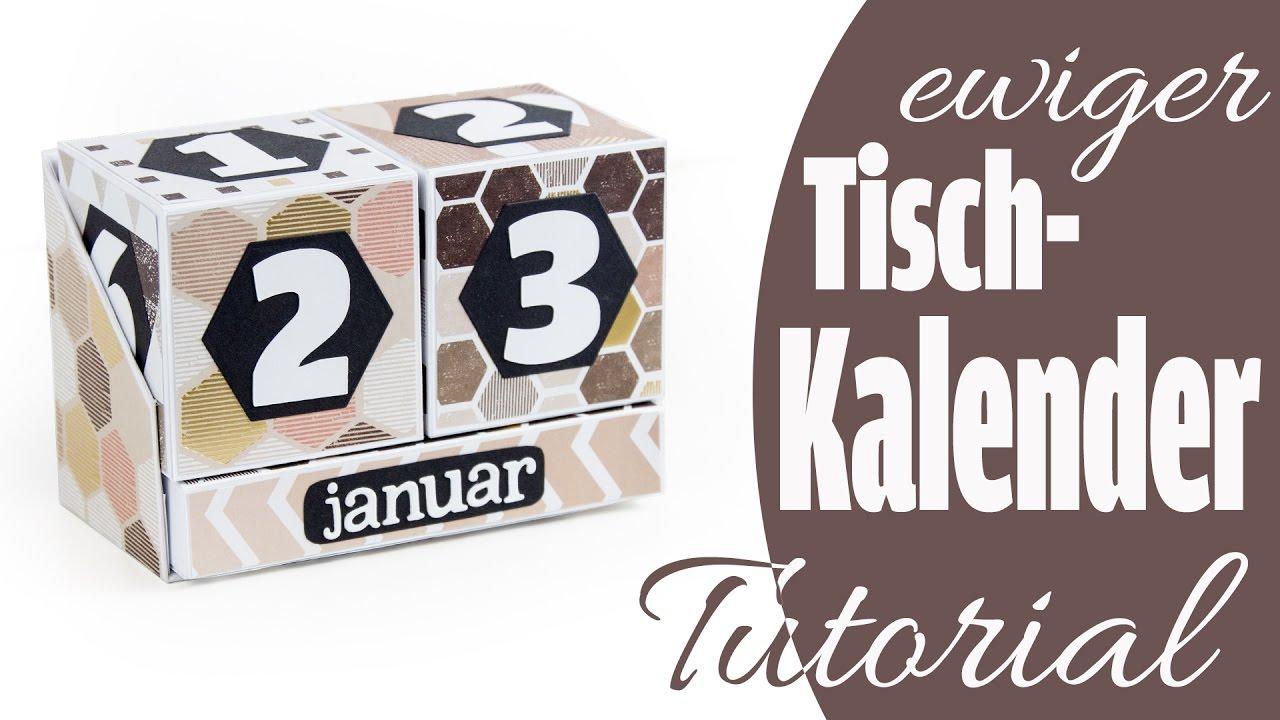 [Tutorial] Ewiger Tischkalender | Perpetual Calendar Aus Papier | Deutsch mit Immerwährender Kalender Selbst Gestalten