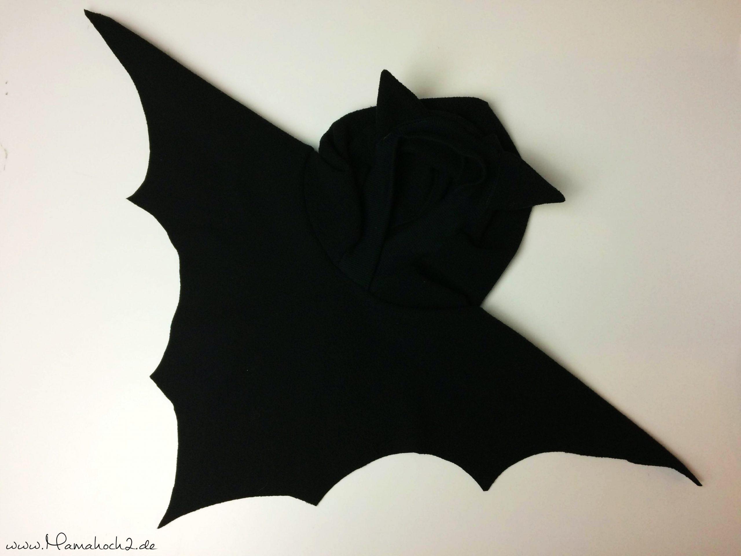 Tutorial   Fledermaus Poncho - Perfekt Für Halloween mit Fledermaus Kostüm Kind Selber Machen