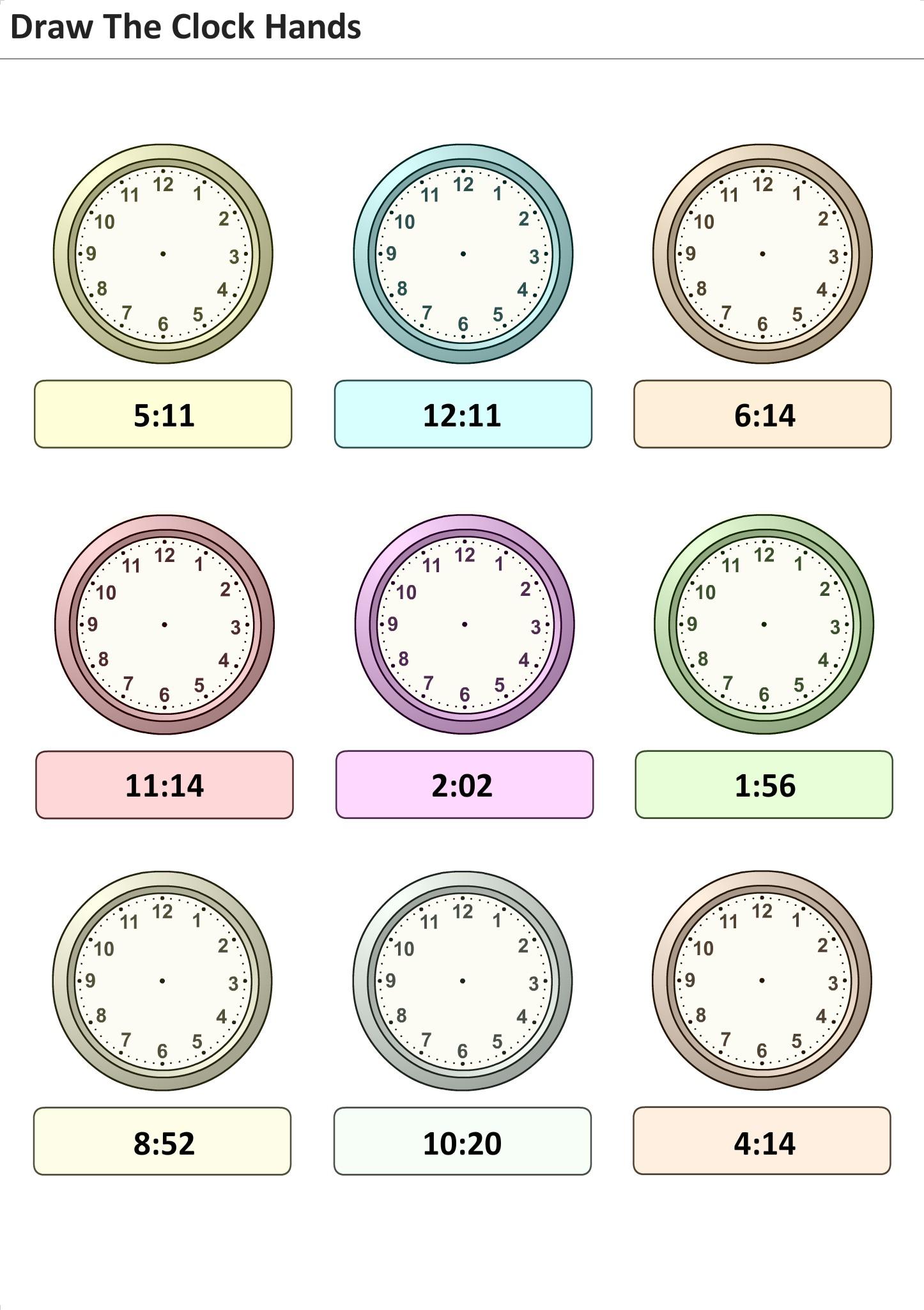 Übungen Für Kinder Setzen Sie Die Zeit Auf Der Uhr Für Lernen 29 verwandt mit Uhr Lernen Übungen