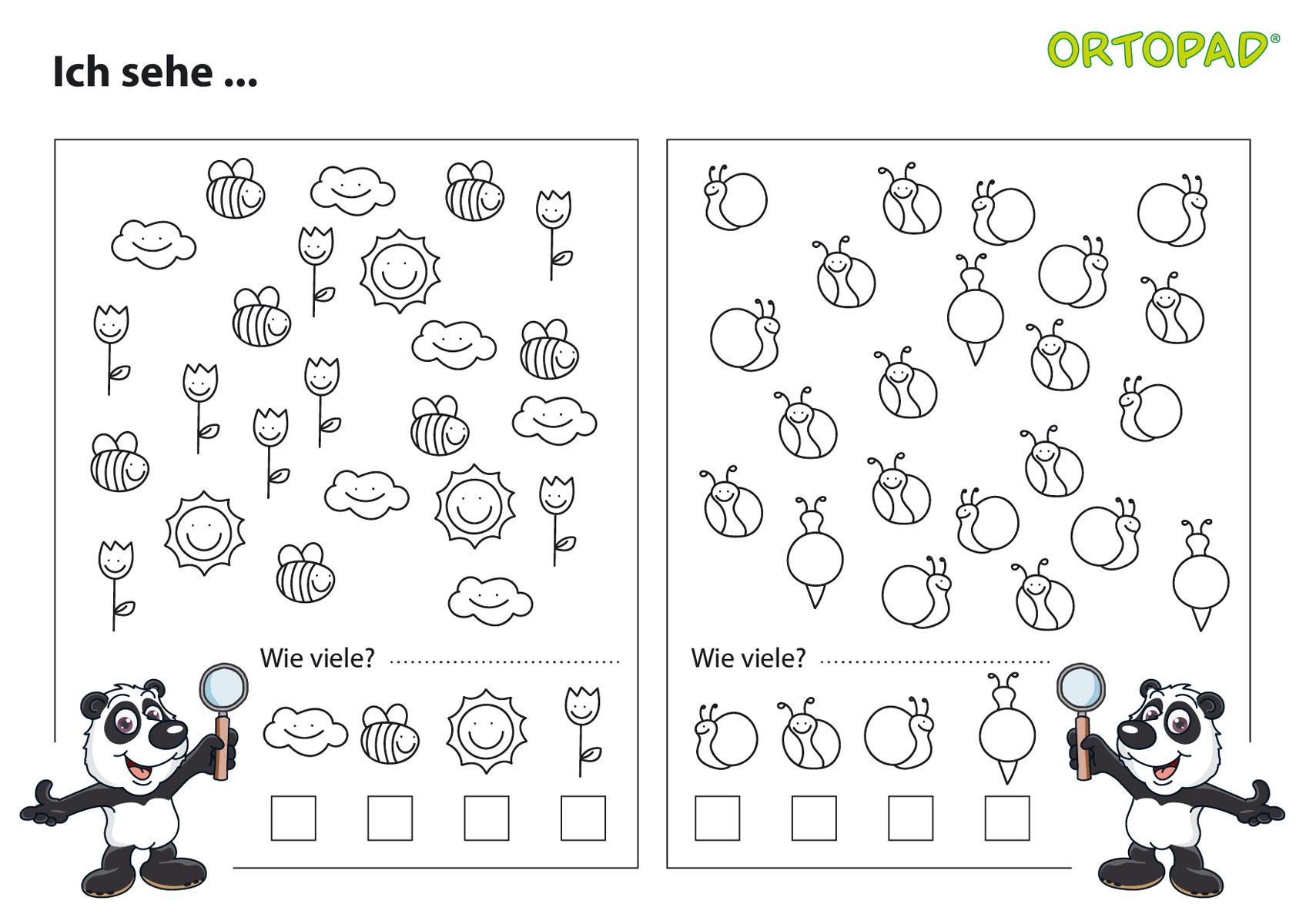 Übungsmaterial Gratis Für Sehtraining » Augenpflaster in Suchbilder Ausdrucken