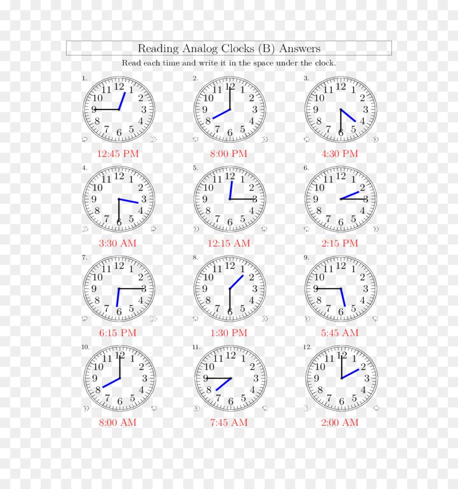 Uhr Stunde Der Messung Zeit Arbeitsblatt - Uhr Png über Uhr Lernen Arbeitsblätter Kostenlos
