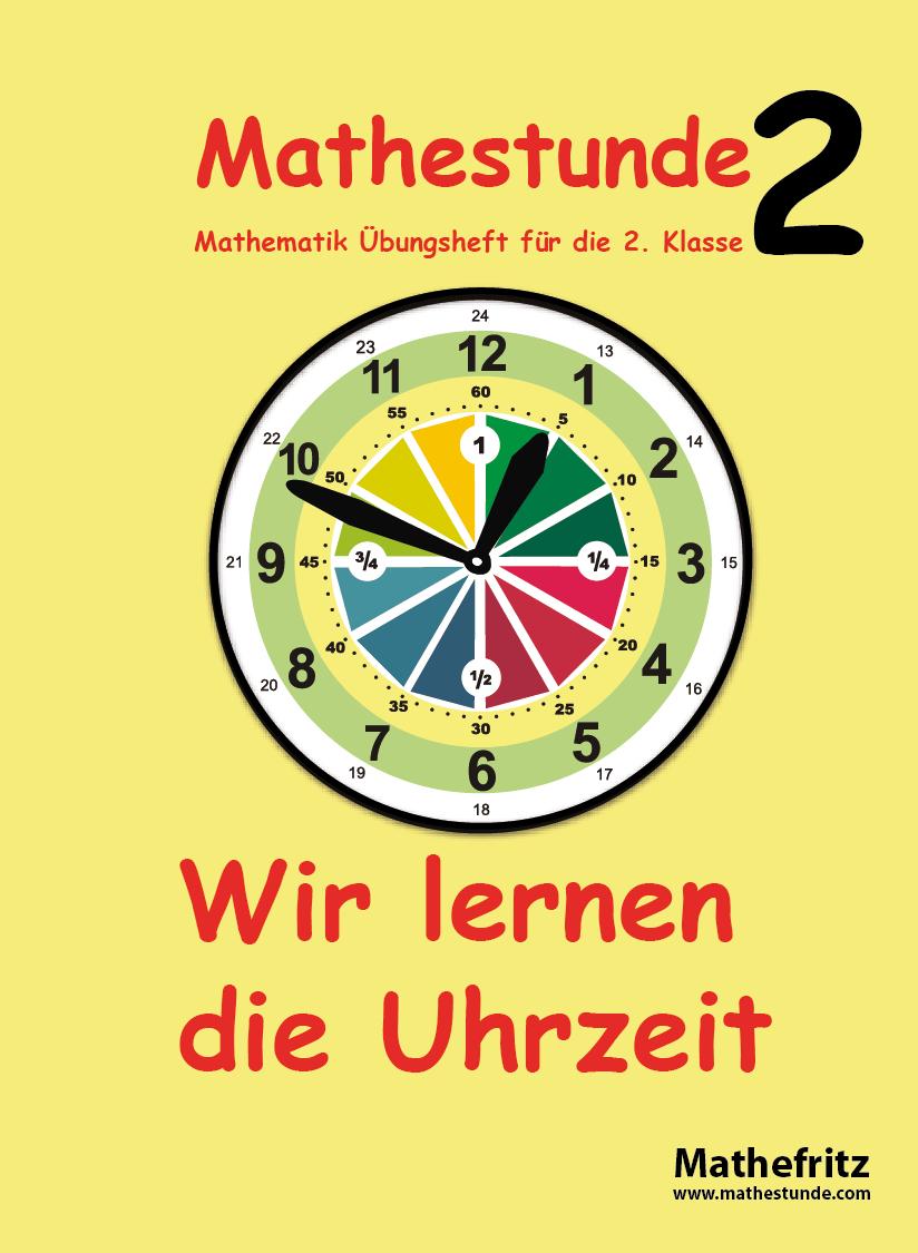 Uhrzeit Lernen Pdf  Arbeitsblätter Uhrzeit Klasse 2 bestimmt für Uhrzeit Lernen Arbeitsblätter Kostenlos