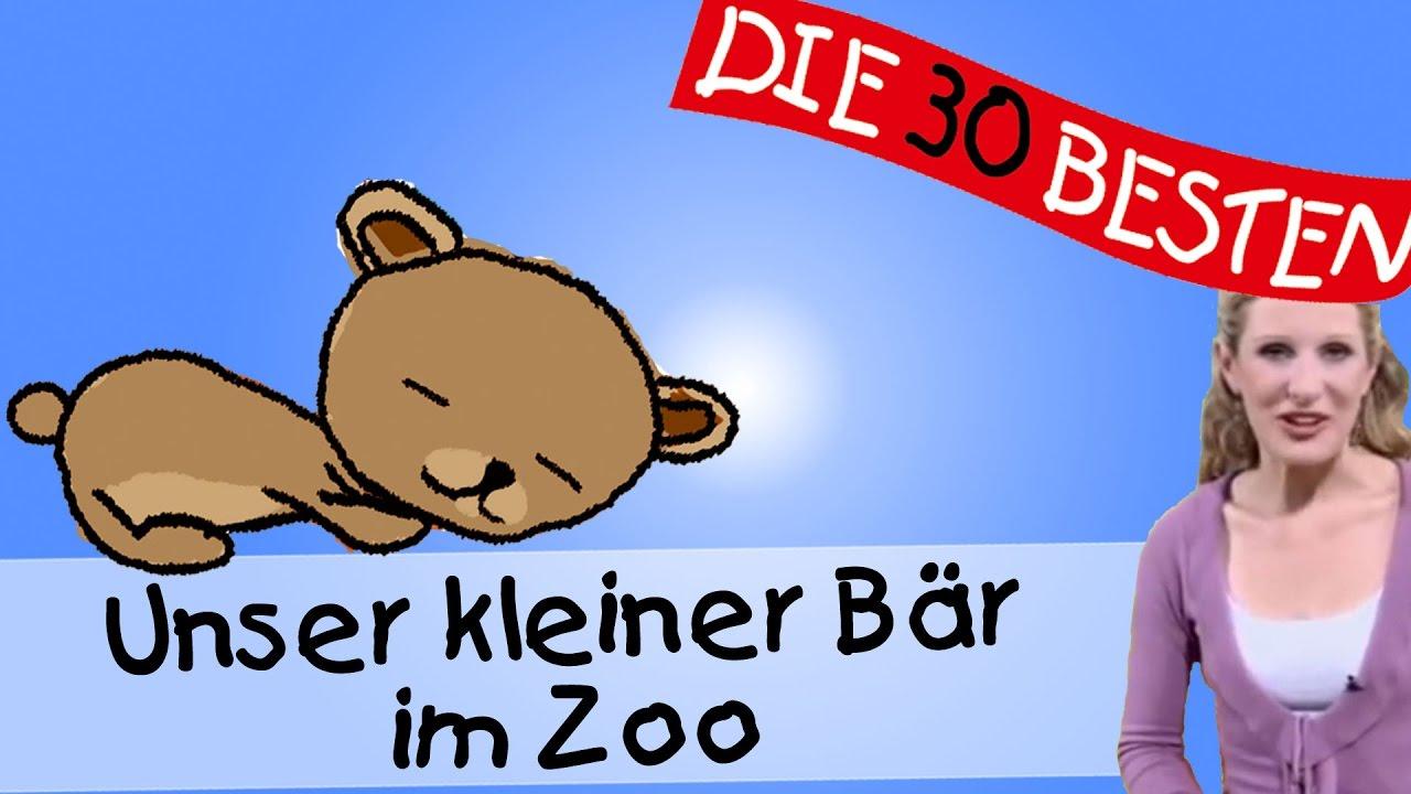 Unser Kleiner Bär Im Zoo Erklärung - Anleitung Zum Bewegen || Kinderlieder ganzes Unser Kleiner Bär Im Zoo Noten
