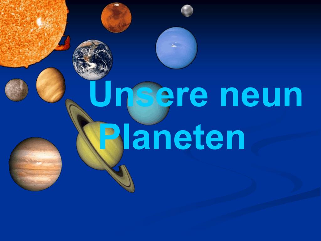 Neue Planeten In Unserem Sonnensystem Entdeckt