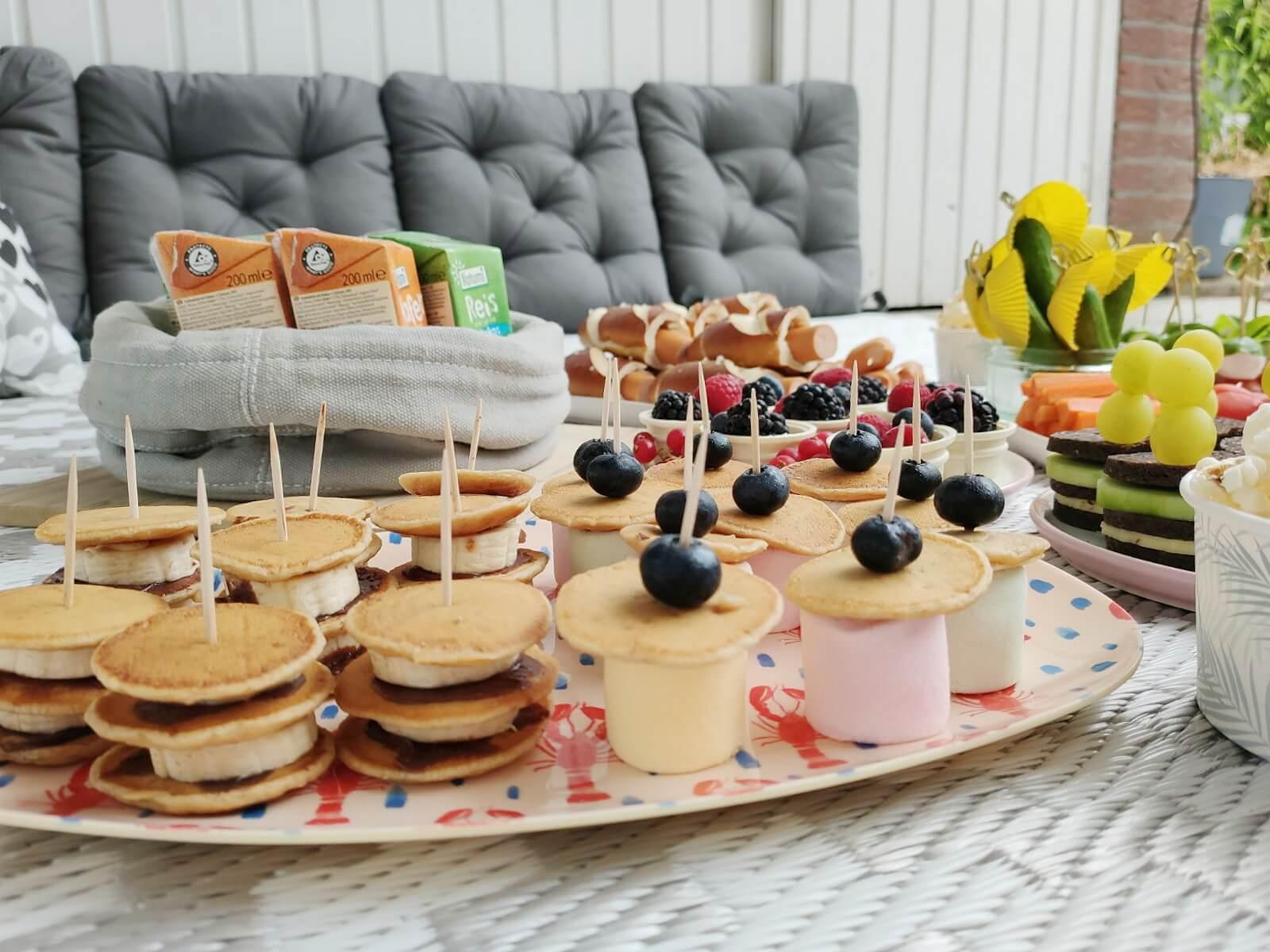 Unsere Zuhause-Picknick-Party Und 10 Schnelle Rezept Ideen über Schnelles Für Das Abendessen Beim Kindergeburtstag Rezepte