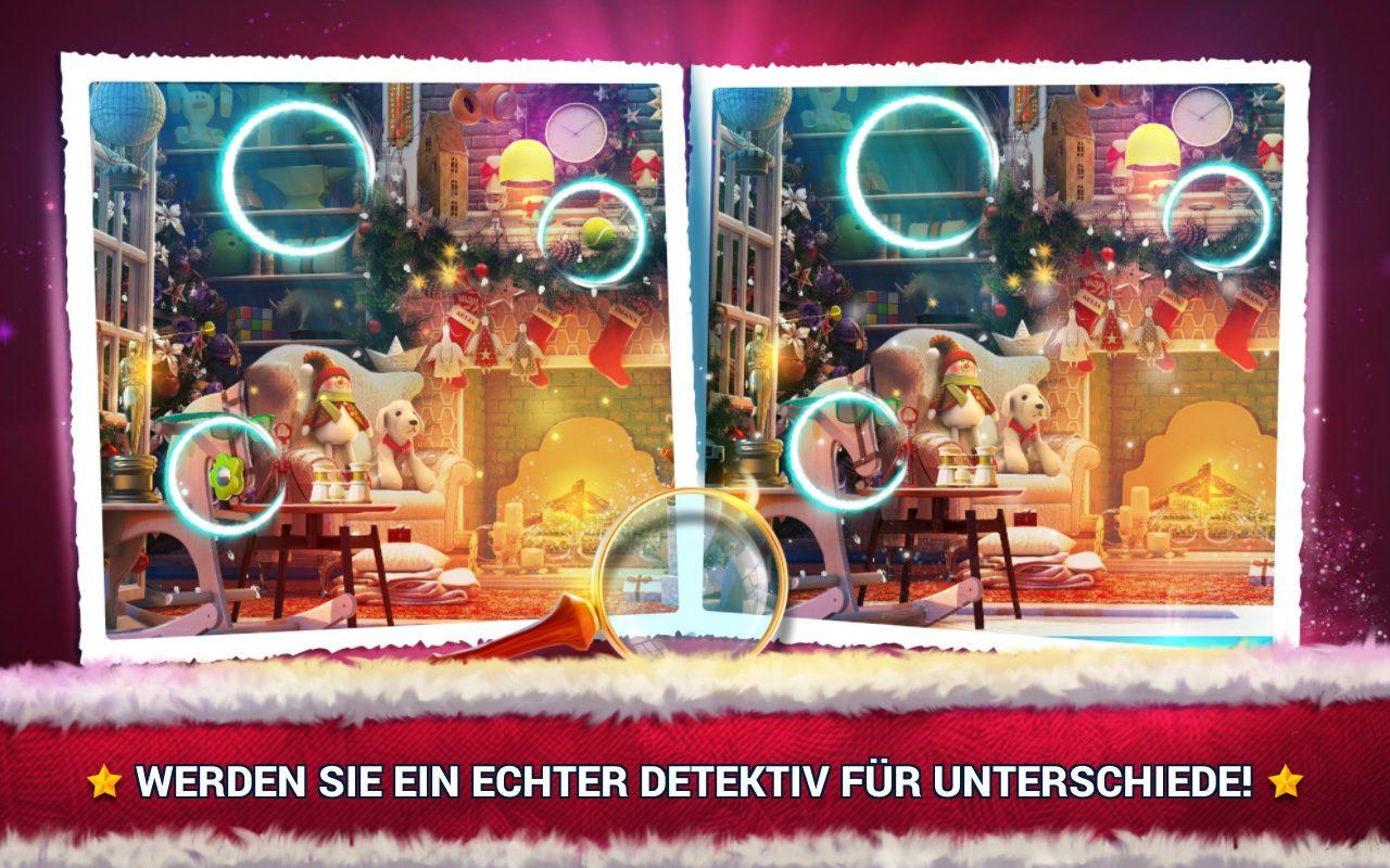 Unterschiede Finden Weihnachten - Fehlersuche Spiel verwandt mit Fehlersuche Bilder