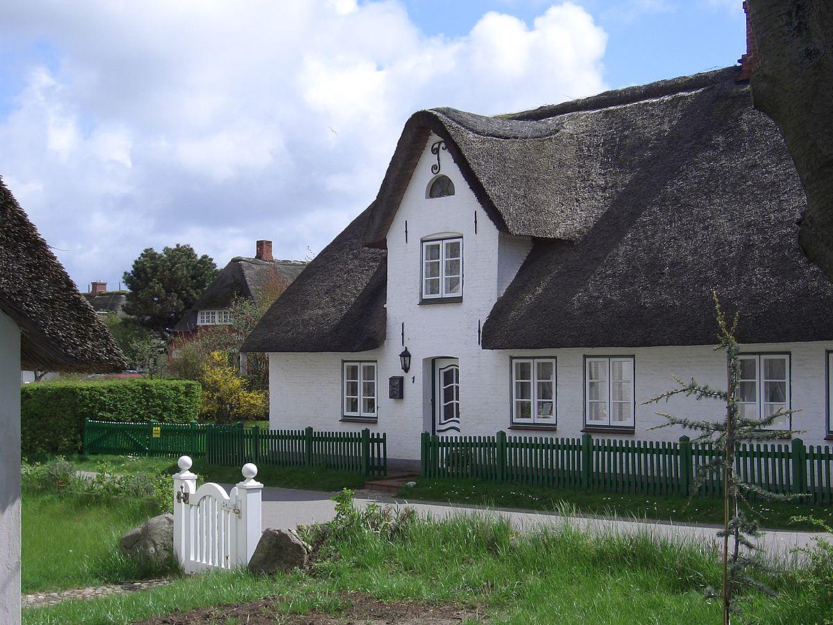 Uthlandfriesisches Haus – Wikipedia mit Lustige Häuser Bilder