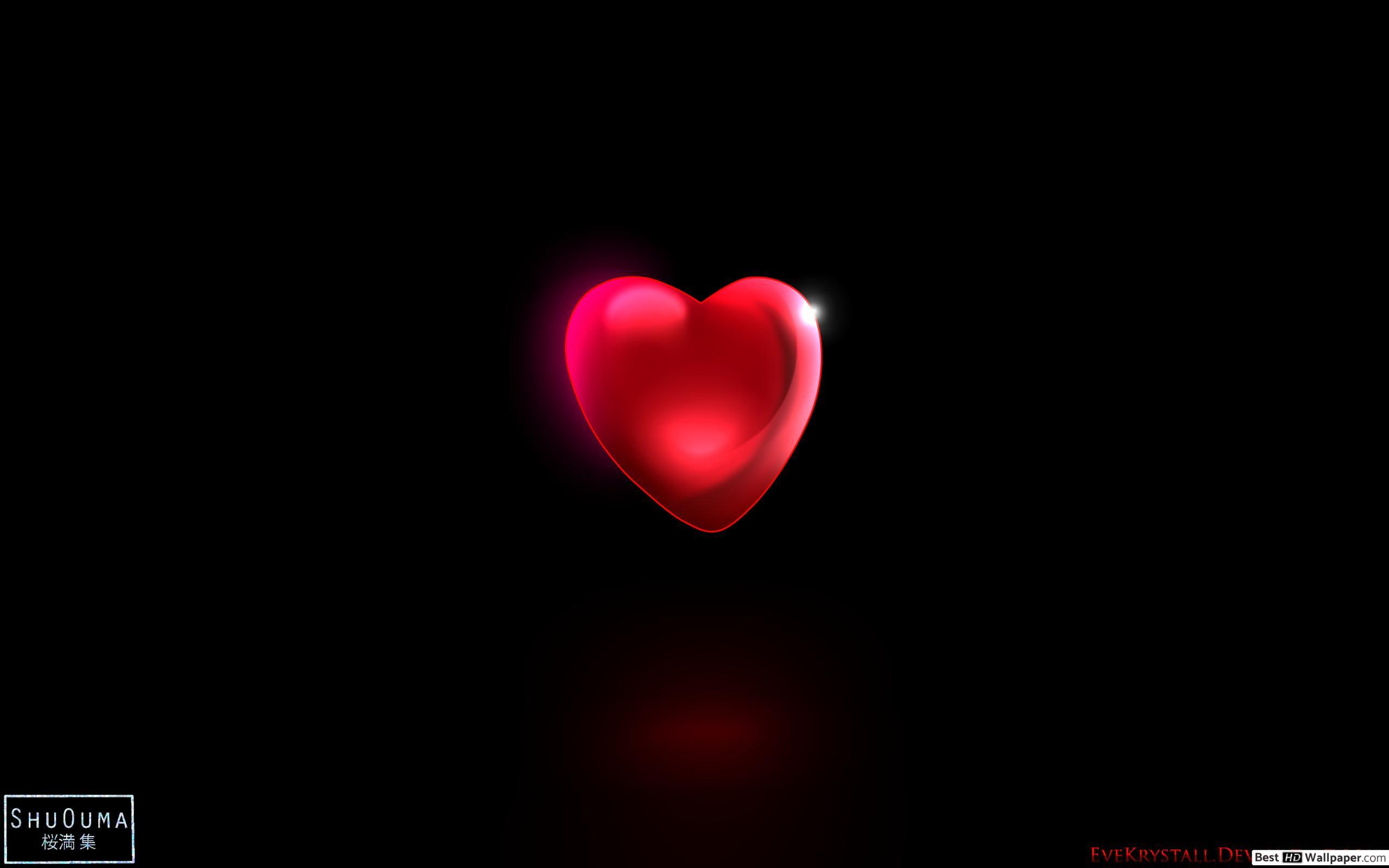Valentinstag - Digital-Rotes Herz Hd Hintergrundbilder verwandt mit Herz Bilder Kostenlos Herunterladen