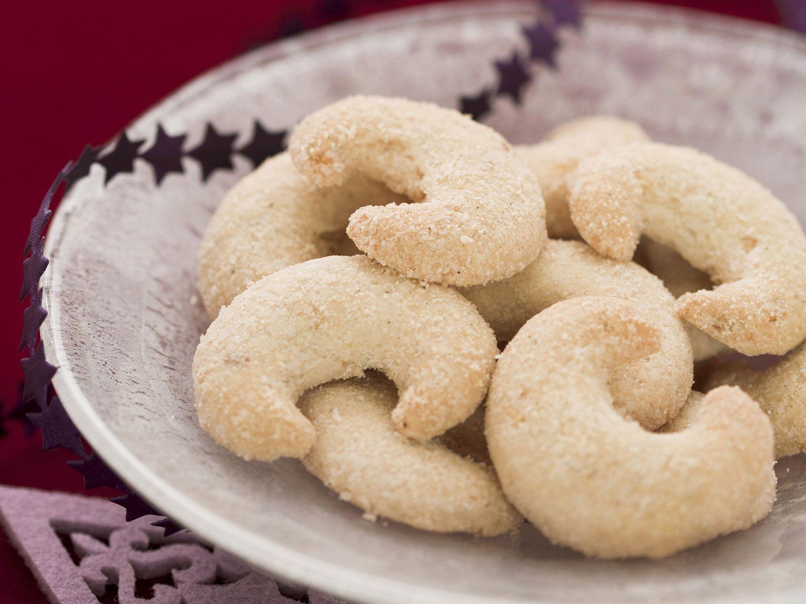 Vanillekipferl über Weihnachtsplätzchen Vanillekipferl Rezept