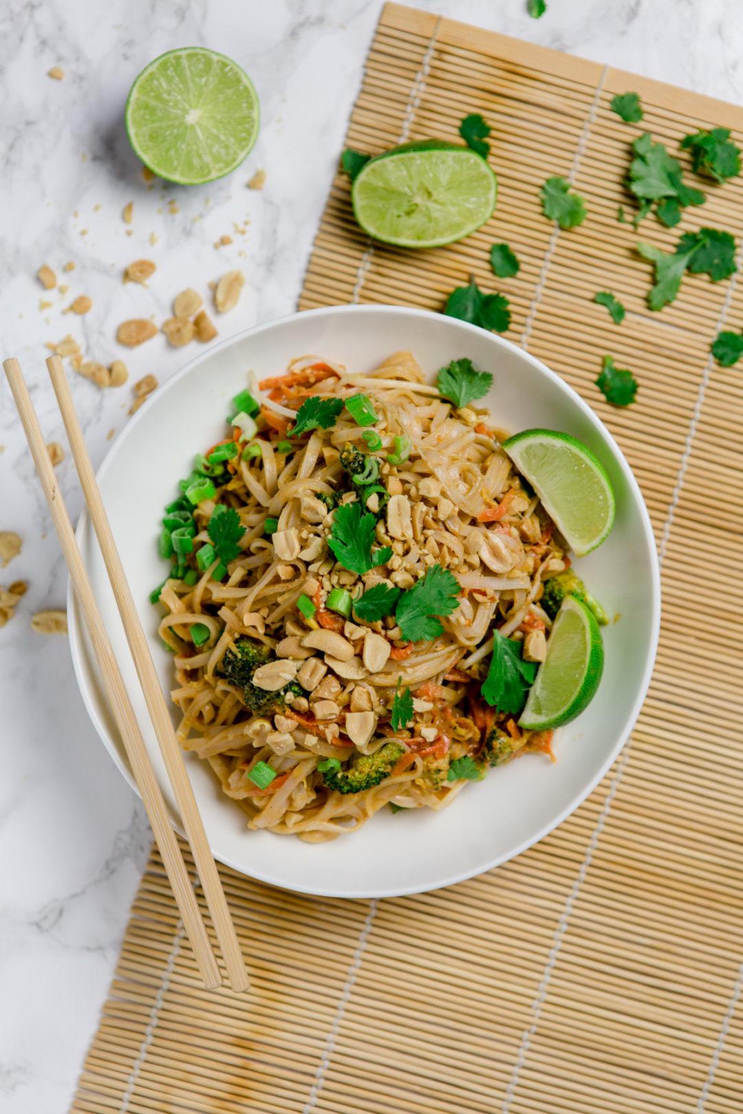 Vegetarisches Pad Thai - Schnell Und Einfach Mit Wow-Effekt mit Einfache Schnelle Rezepte Ohne Fleisch