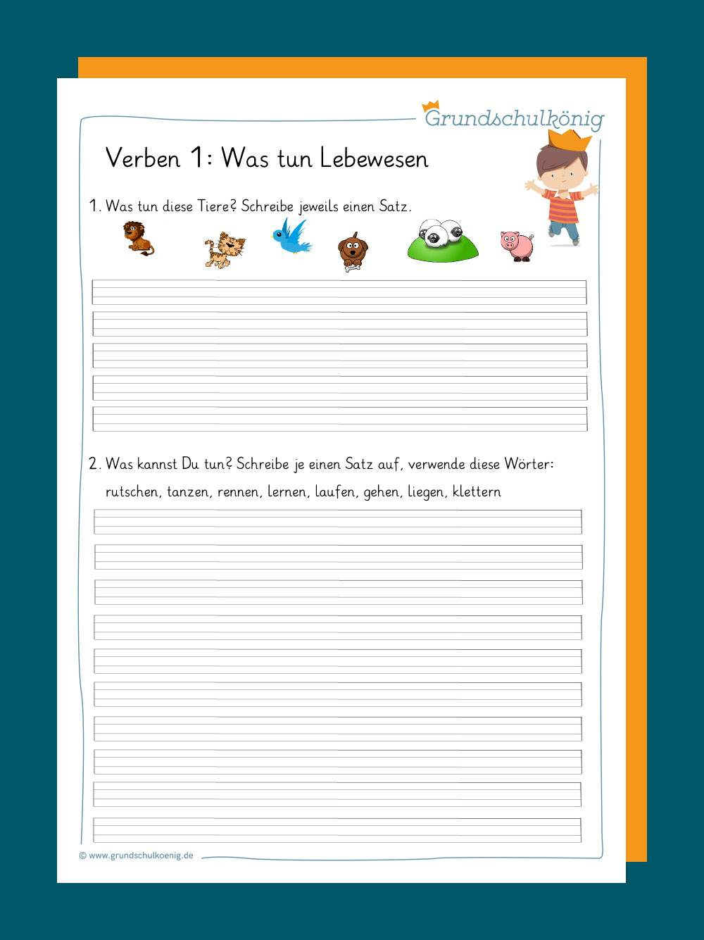Verben Und Zeitformen verwandt mit Deutsch 4 Klasse Zeitformen Übungen