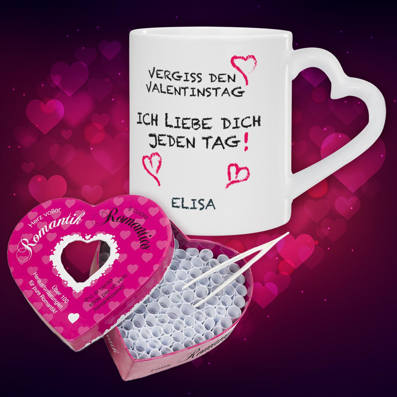 Vergiss Den Valentinstag Geschenk Set bestimmt für Originelle Geschenke Zum Valentinstag