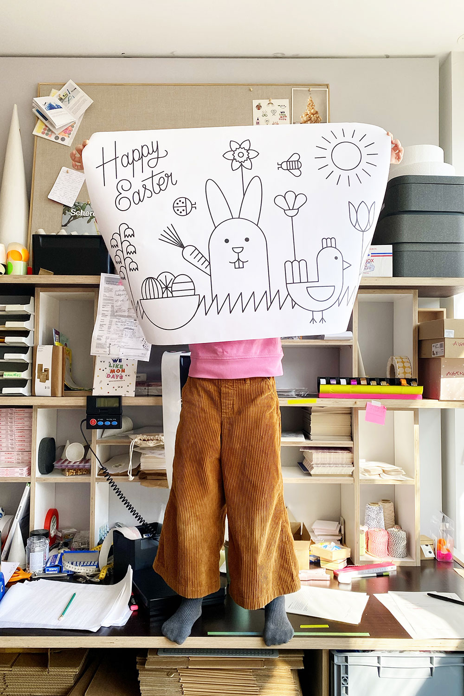 Vorlage Fensterbild Happy Easter in Fensterbilder Vorlagen Ostern