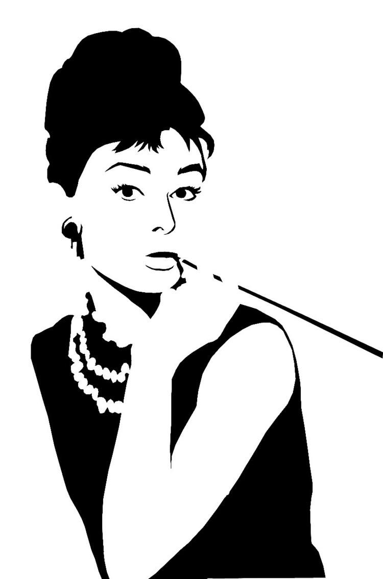 Wandschablonen Zum Ausdrucken - 34 Vorlagen Mit Tollen Motiven bei Malschablonen Zum Ausdrucken