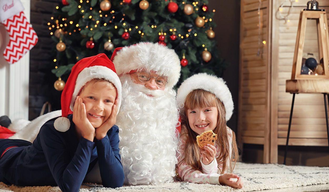 Warten Auf Den Weihnachtsmann - So Verkürzen Sie Kindern Die über Weihnachtsmann Kinder
