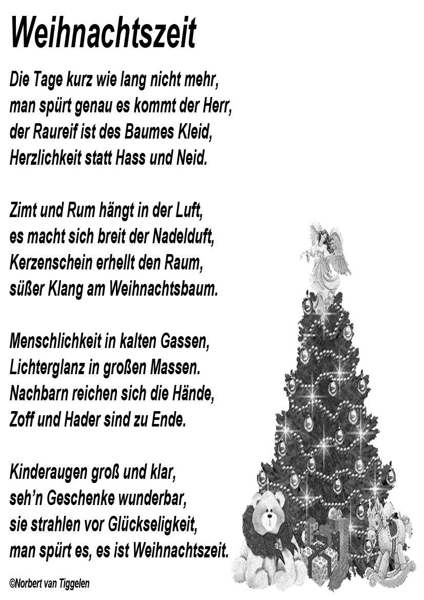 Weihnachten, Advent, Van Tiggelen, Gedichte, Menschen, Leben bestimmt für Weihnachtliche Wörter