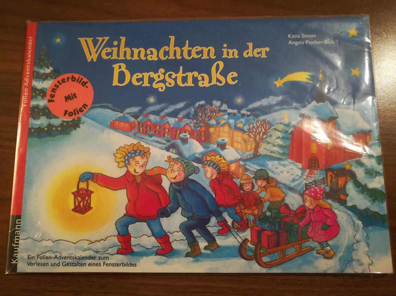 Weihnachten In Der Bergstraße - Ein Folien-Adventskalender Zum Vorlesen Und  Gestalten Eines Fensterbildes mit Adventskalender Zum Vorlesen