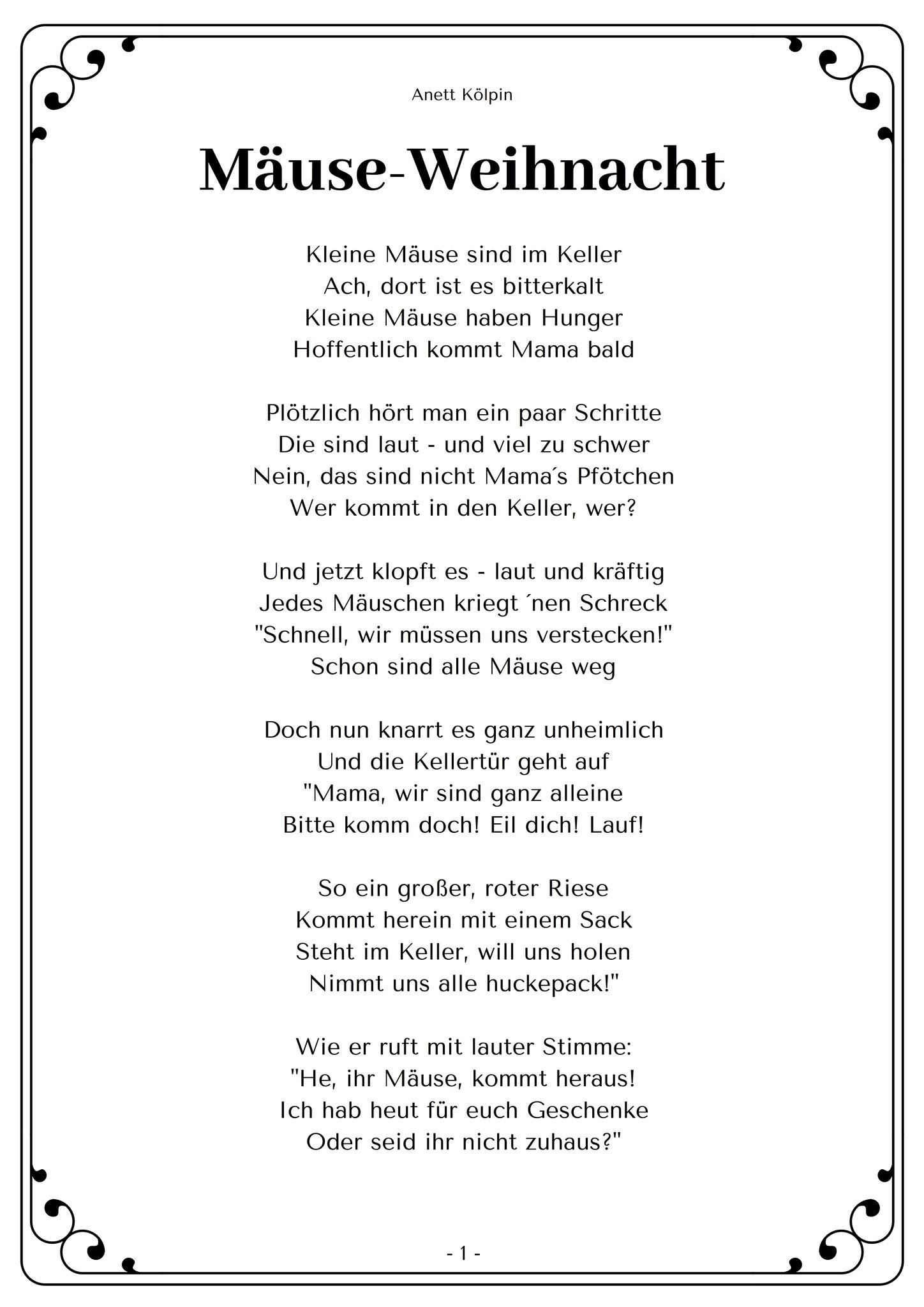 Weihnachten - Kinderlieder & Gedichte Für Krippe Und bestimmt für Gedichte Zu Weihnachten Für Kindergartenkinder